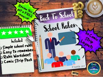 Back to School!! School Rules