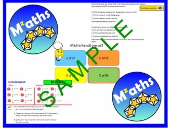 Fractions of Amounts - Problem Solving