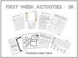 First/Last Week of School Activities