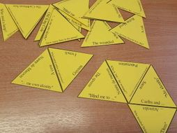 Checking Out Me History - Tarsia jigsaw puzzle