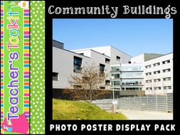Community Buildings   Photo Posters   Reference   Display