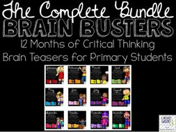 Brain Busters BUNDLE