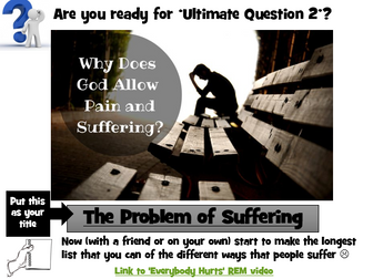 KS3 RE Ultimate Questions - Part 2 The problem of suffering
