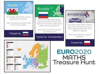Euro 2020 Maths Treasure  Hunt