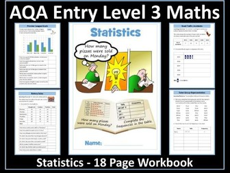 Statistics AQA Entry Level 3 Maths