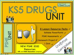 KS5 Drugs Education Unit - PSHE