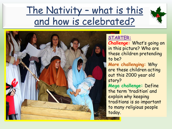 Nativity and Advent