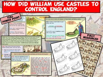 Normans - Motte and Bailey Castles