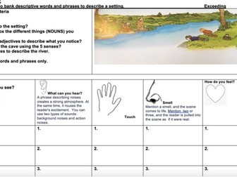 Stone Age Boy -describing the river setting