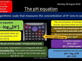 NEW OCR A Yr2 5.1.3 Acid, Bases and Buffers Revision