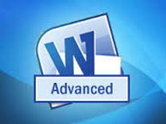 Microsoft Word Advanced Step by Step guide with screen shots