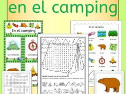 Spanish Camping Summer Resource