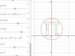 how to create a cool graph on desmos