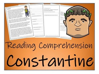UKS2 History - Constantine Reading Comprehension Activity