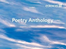 EDEXCEL PEARSON GCSE POETRY ANTHOLOGY (CONFLICT) REVISION TOOLKIT