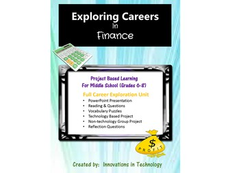 Exploring Careers:  Finance