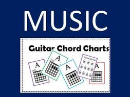 Music Guitar Chord Charts