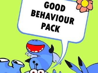 Little Monsters Good Behaviour Pack
