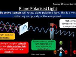 NEW AQA Yr2 Optical Isomerism Revision
