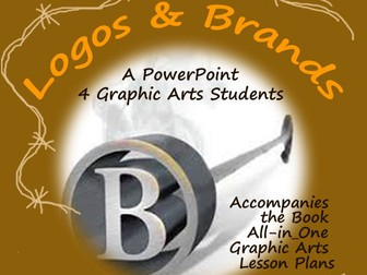 Graphic Arts BRANDS & LOGOS: What's The Difference & How Are They Used? A PowerPoint