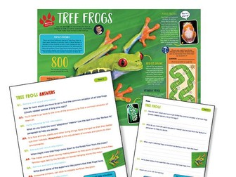 Year 4 Science Reading: tree frogs