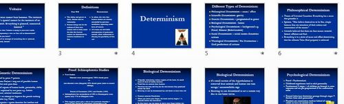 Freewill and Determinism OCR (legacy spec)