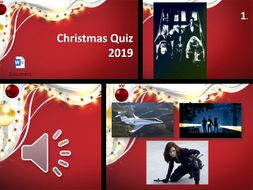 2019 End of Year Christmas Quiz
