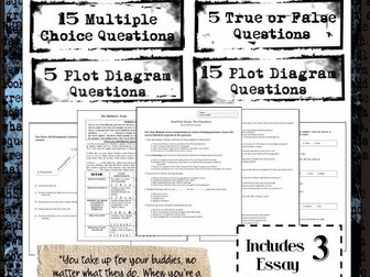 The Outsiders Unit Packet: Character / Plot, Mock Trial