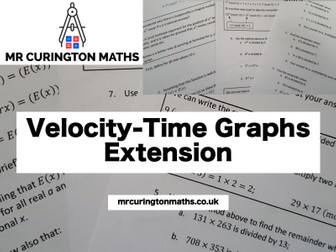 Velocity-Time Graphs Extension