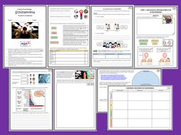 AQA A-level psychology schizophrenia workbook/booklet