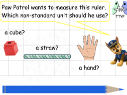 Year 1 - Measurement using non-standard units - Lesson 2