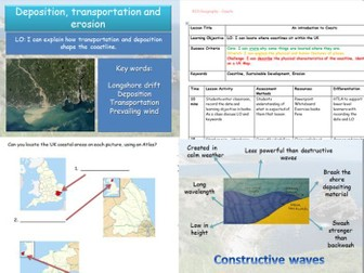KS3 Geography SOW - COASTS