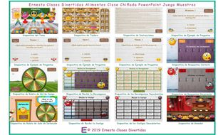 Food-Items-Kooky-Class-Spanish-PowerPoint-Game.pptm