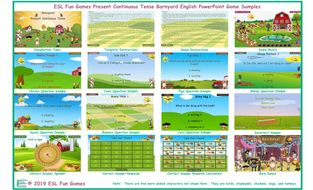 Present-Continuous-Tense-Barnyard-English-PowerPoint-Game.pptx