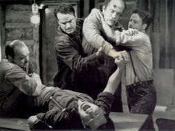 Of Mice and Men: detailed analysis of the fight scene