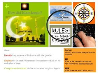 Islam KS3 topic