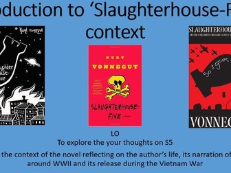 Slaughterhouse Five Context