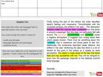 AQA English Language Paper One Q1-5 FULL LESS W/ YOUTUBE VIDEOS