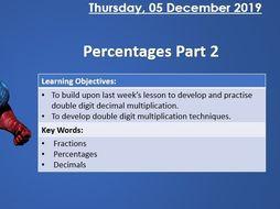 KS2 Maths - Percentages