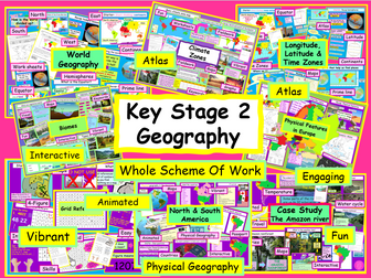 Physical Geography KS2 Whole Scheme of Work