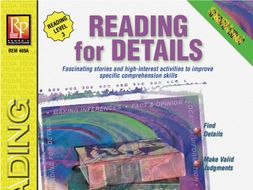 Reading for Details for Reading Level 3: Specific Skills Series