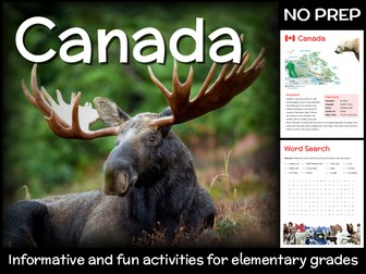 Canada (country study for elementary grades)