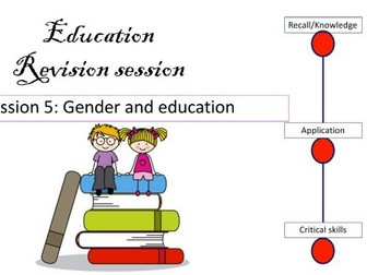 Gender and education revision AS Sociology AQA