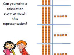 Grid Method Multiplication -  2-digit by 1-digit, with Base 10    (Yr 3/4)