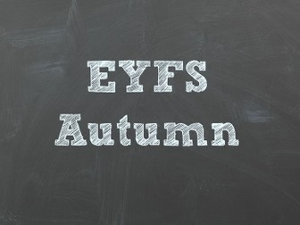 Autumn Continuous Provision Plans.