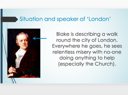 Blake's 'London' - AQA Conflict and Power Cluster