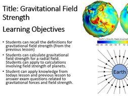 Gravitational Field Strength A-Level