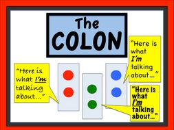 Punctuation: The Colon