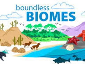 Homework and Title Page for Biomes