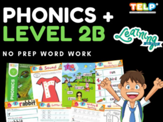 Phonics 2B - Introducing the Letter Sounds - R, M, D, G, O, U, I, F, B